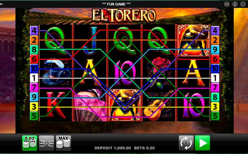 Spielautomat El Torero von Merkur